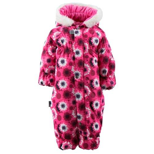 Купить Комбинезон KERRY ROSIE K18407 размер 74, 2610 малиновый/розовый/белый, Теплые комбинезоны