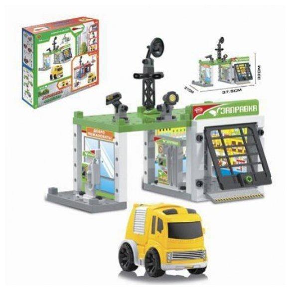 Shantou Gepai Игровой набор Автозаправочная станция M7142