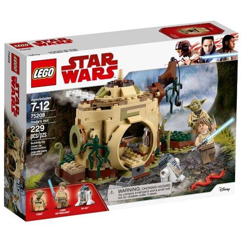 Конструктор LEGO Star Wars 75208 Хижина ЙодыКонструкторы<br>