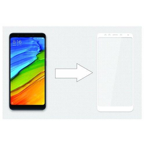 Защитное стекло Ainy Full Screen Cover AF-X1060A/B/L для Xiaomi Redmi 5 белый аксессуар защитное стекло для apple iphone 6 6s ainy 3d full screen cover 0 33mm с силиконовыми краями black af a890a