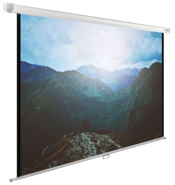 Cactus Экран WallExpert CS-PSWE-240x240-WT 240x240 см 1:1 настенно-потолочный рулонный