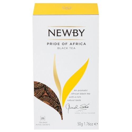 Чай черный Newby Pride of Africa в пакетиках, 25 шт.Чай<br>