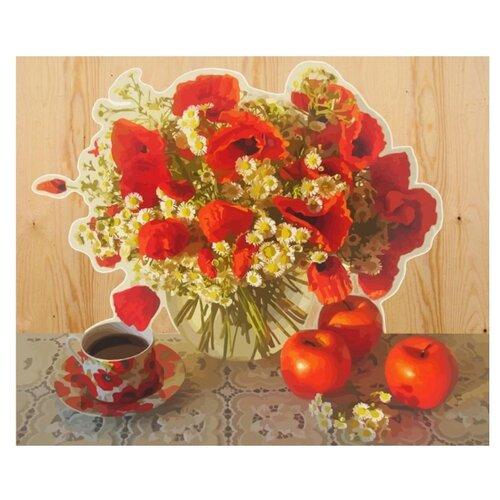 Купить Color Kit Картина по номерам Огненные маки 40х50 см (DER010), Картины по номерам и контурам