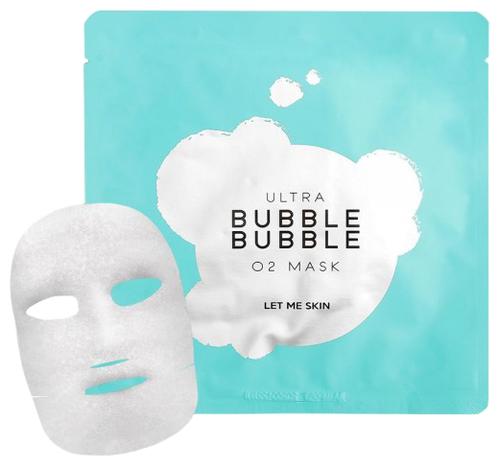 Let Me Skin Тканевая пузырьковая маска