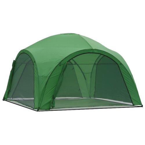 Фото - Шатер Green Glade 1264, со стенками и москитной сеткой, 4 х 4 х 2.65 м зеленый шатер green glade 1003 со стенками и москитной сеткой белый зеленый