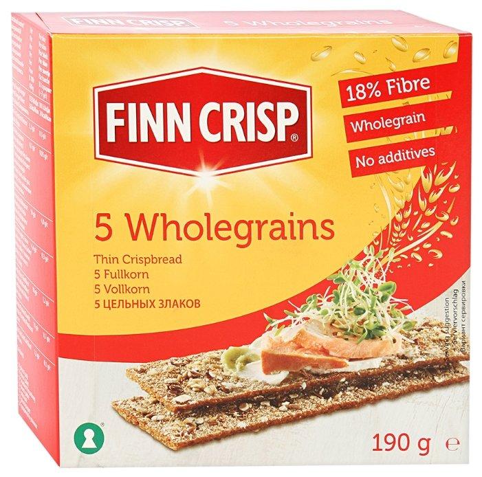 Сухарики цельнозерновые Finn Crisp 5 злаков 190 г