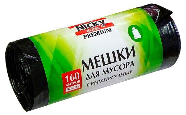 Мешки для мусора Nicky Home 7578 160 л (10 шт.)
