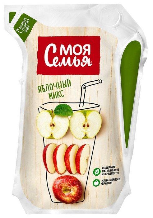 Напиток сокосодержащий Моя Семья из яблок