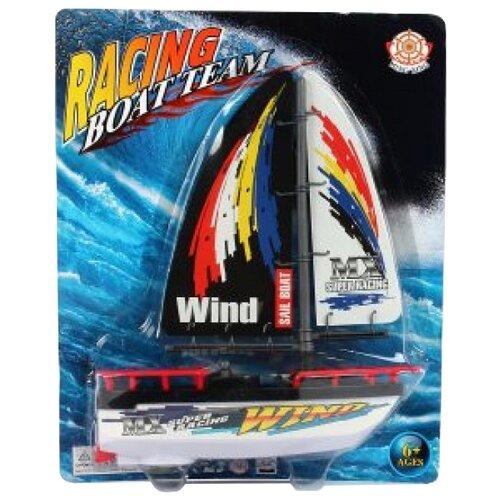 Фото - Катер Shantou Gepai Racing Boat Team (589) 21 см белый/черный машины shantou gepai катер электронный 40 см