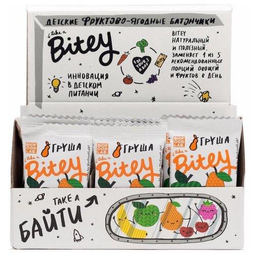 Фруктовый батончик Bitey Box без сахара Яблоко-груша, 30 шт батончик мюсли диyes яблоко без сахара 25 г