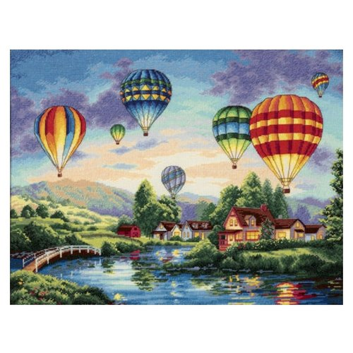 Купить Dimensions Набор для вышивания крестиком Balloon Glow 41 x 30 см (35213), Наборы для вышивания