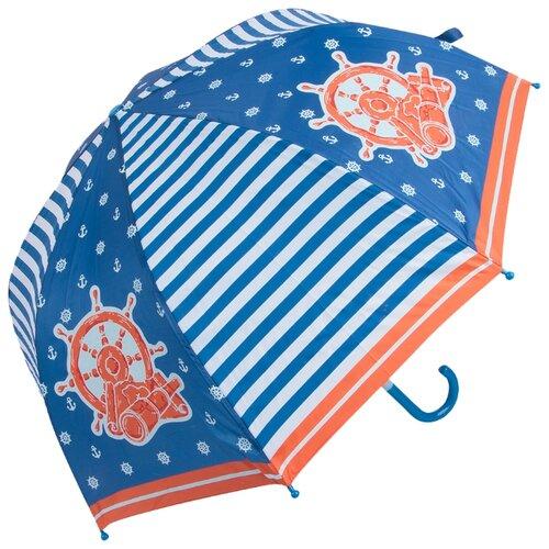 Зонт Mary Poppins синий/белый/красный