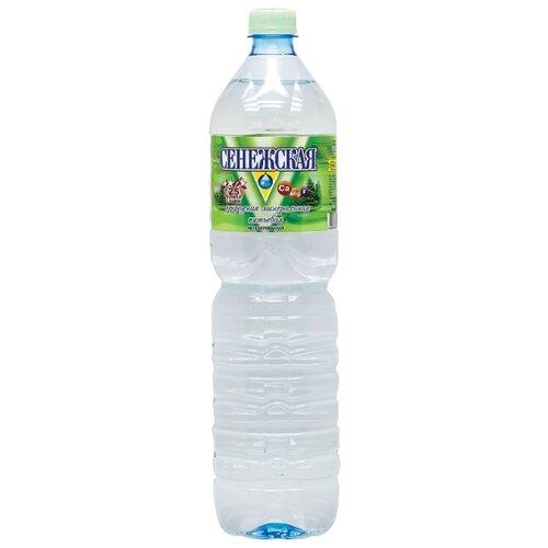 Вода минеральная Сенежская негазированная, ПЭТ, 1.5 л