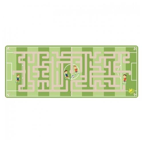 Купить Головоломка Мастер игрушек Лабиринт с шариком Футбол (IG0219) зеленый, Головоломки