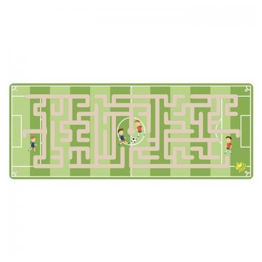 Головоломка Мастер игрушек Лабиринт с шариком Футбол (IG0219) зеленый