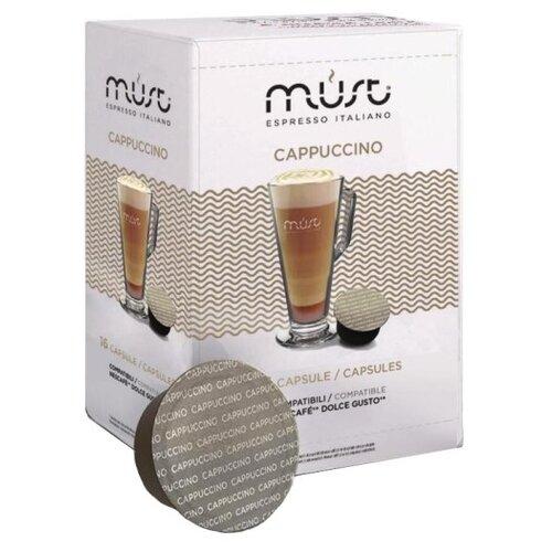 Фото - Кофе в капсулах MUST Cappuccino (16 капс.) кофе в капсулах absolut drive латте маккиато 16 капс