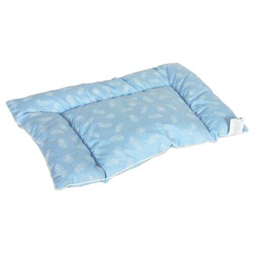 Подушка DREAM TIME ДТ-ПЛПД-4060 40x60 см голубой с перьями подушка dream time дт пмс 070