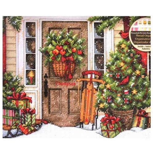 Купить Dimensions Набор для вышивания Праздничный дом 25, 4 x 20, 3 см (70-08961), Наборы для вышивания
