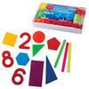 Счетный материал СТАММ Касса счетных материалов «Учись считать» с пятиугольником