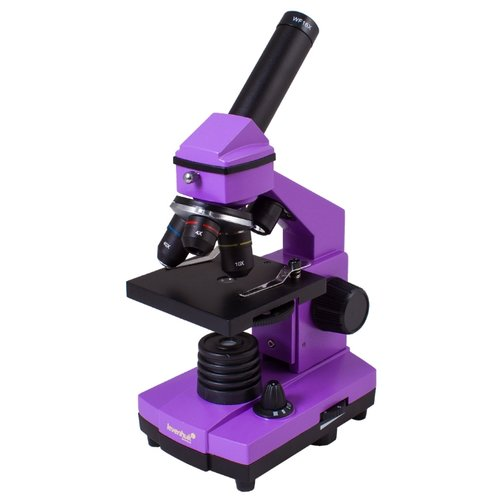 Микроскоп LEVENHUK Rainbow 2L PLUS amethyst микроскоп levenhuk rainbow 2l plus lime лайм