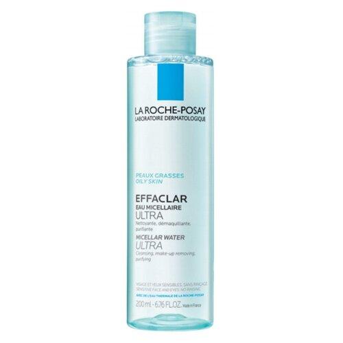 La Roche-Posay Мицеллярная вода Effaclar Ultra, 200 мл la roche posay очищающий гель крем effaclar h 200 мл