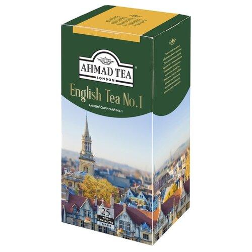 Чай черный Ahmad tea English tea No.1 в пакетиках, 25 шт.