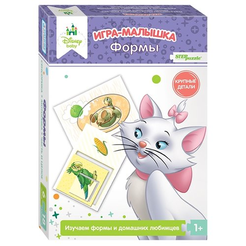 Настольная игра Step puzzle Игра-малышка Формы (Disney Baby) настольная игра step puzzle домино disney тачки 80107