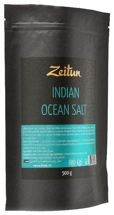 Zeitun Натуральная соль Индийского океана, 500 г