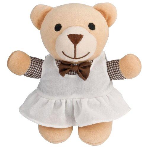 Мягкая игрушка Canpol Babies Мишка-девочка в платье 28 см