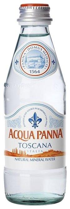 Минеральная вода Acqua Panna негазированная, стекло