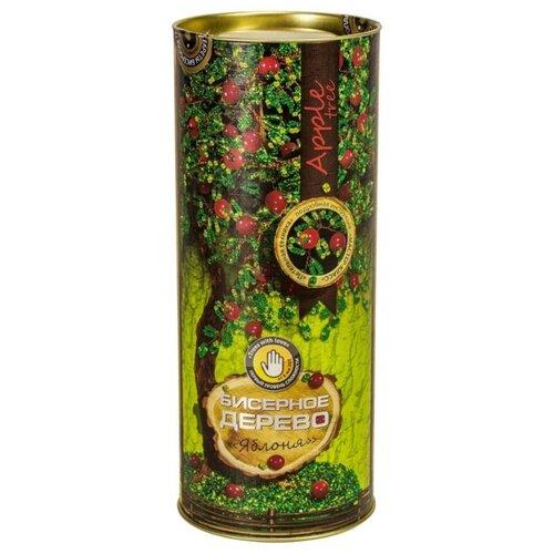 Купить Danko Toys Набор для бисероплетения Бисерное дерево. Яблоня БД-04 зеленый/красный, Бисер и бисероплетение