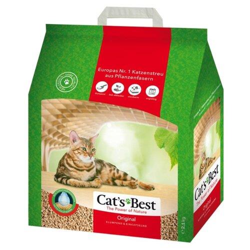 Наполнитель Cats Best Original (5 л)Наполнители для кошачьих туалетов<br>