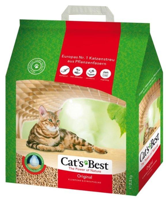 Наполнитель Cat's Best Original (5 л)