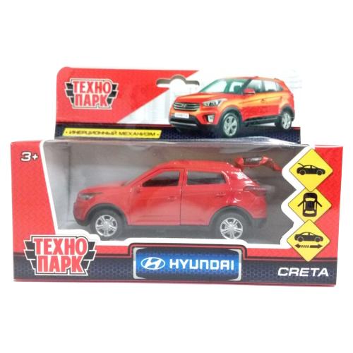 Купить Внедорожник ТЕХНОПАРК Hyundai Creta 12 см красный, Машинки и техника