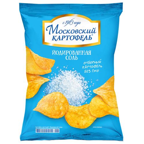 Чипсы Московский КАРТОФЕЛЬ картофельные Йодированная соль, 70 г