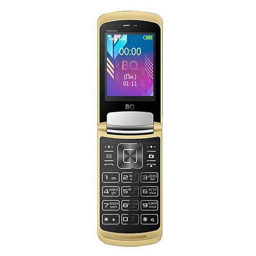 Телефон BQ 2433 Dream DUO золотой [available with 10 11] linen duo love dream