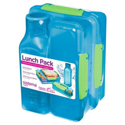 Sistema Набор для ланча Lunch 1590 синий