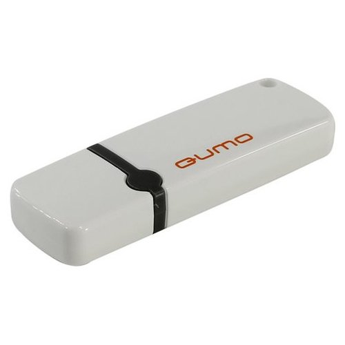 Фото - Флешка Qumo Optiva OFD-02 64Gb white внешняя акб qumo poweraid qc 3 0 15600