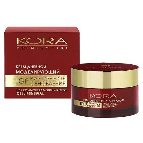 Крем Kora Premium Line дневной моделирующий IGF клеточное обновление 50 млАнтивозрастная косметика<br>