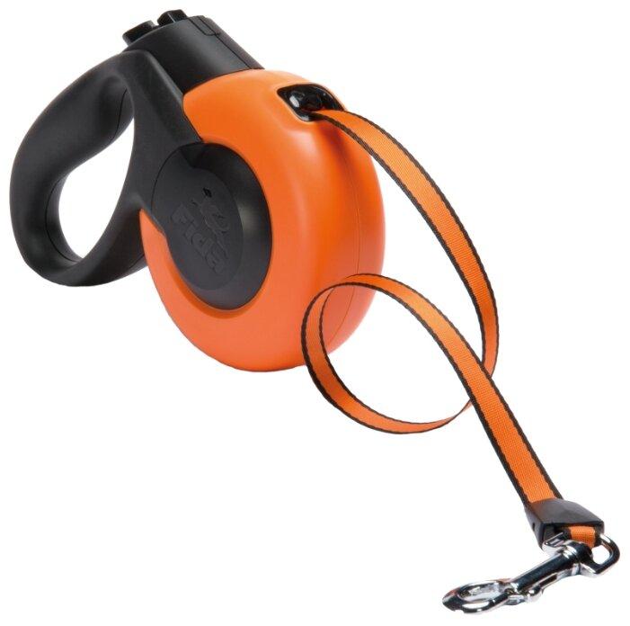 Поводок рулетка для собак Fida Mars ленточная