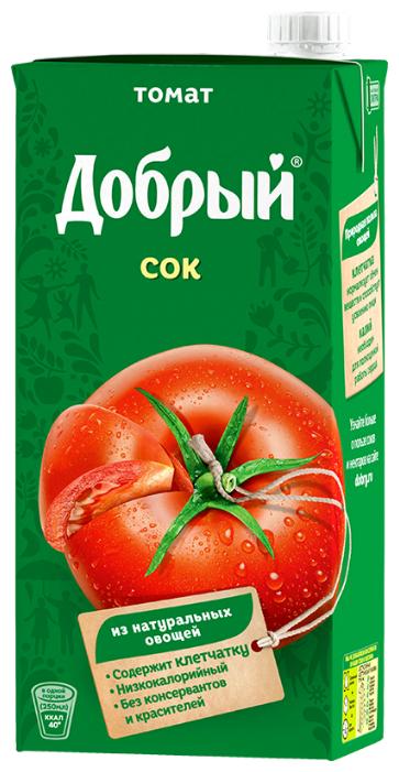 Сок Добрый томатный с мякотью, 0,33л