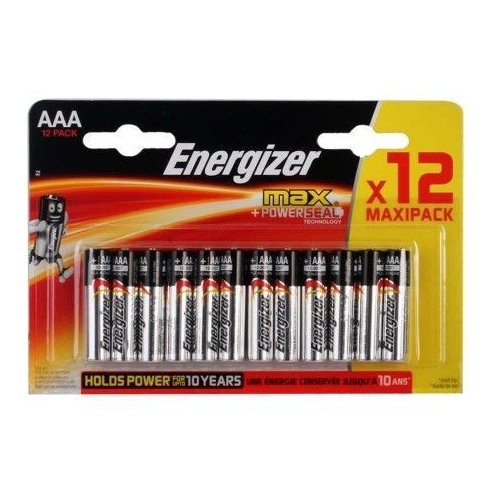 Фото - Батарейка Energizer Max+Power Seal AAA/LR03 12 шт блистер батарейка duracell ultra power aaa lr03 12 шт блистер