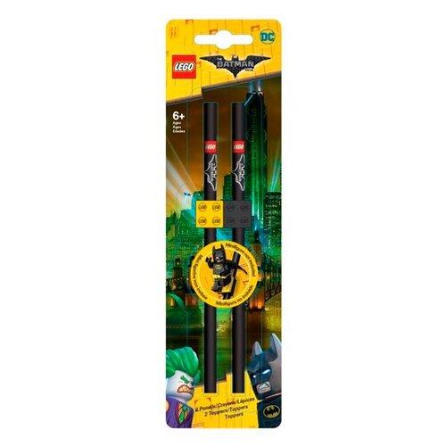 LEGO Набор чернографитных карандашей Batman (Бэтмен) 2 шт (51741) набор закладок lego batman glam rocker batman easter bunny batman 3 шт