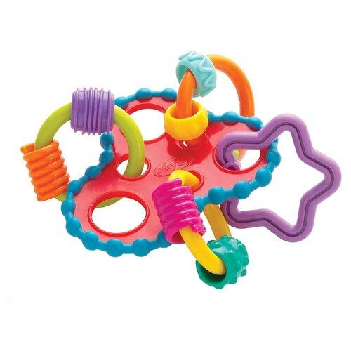 Купить Прорезыватель-погремушка Playgro Roundabout Rattle разноцветный, Погремушки и прорезыватели