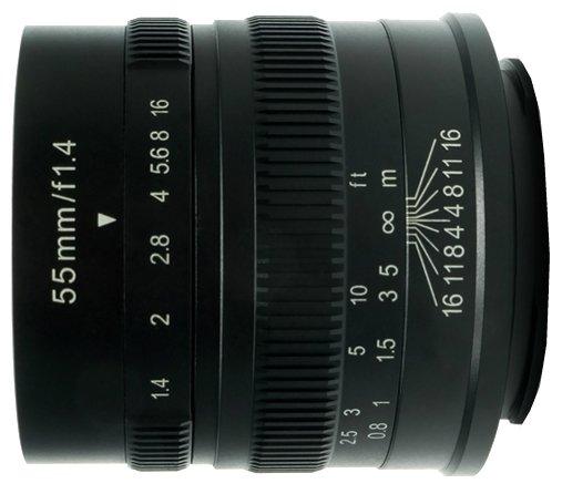 Объектив 7artisans 55mm f/1.4 Sony E