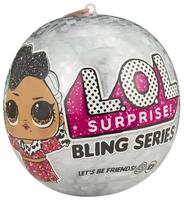 Кукла-сюрприз MGA Entertainment в шаре LOL Surprise Bling Series, 8 см, 554806, в ассортименте