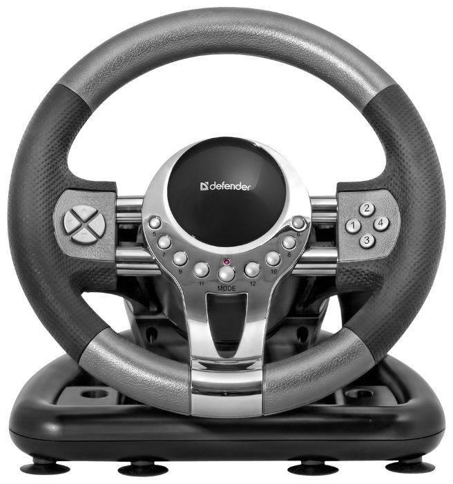 Руль Defender Forsage GTR for PC