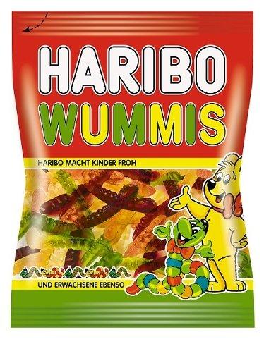Мармелад жевательный Haribo Червячки Вуммис пак 70г