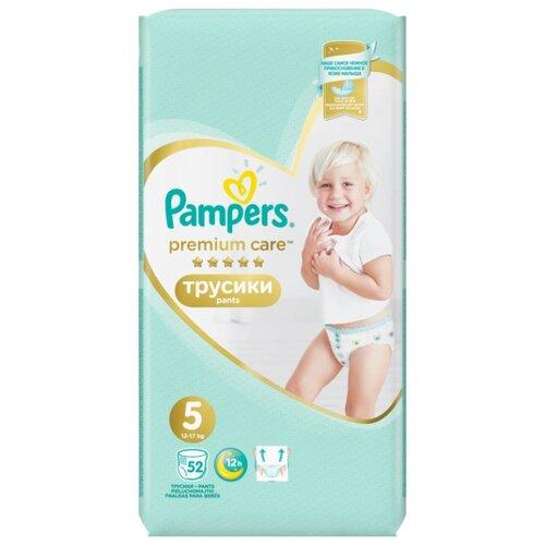 Pampers Premium Care трусики 5 (12-17 кг) 52 шт.