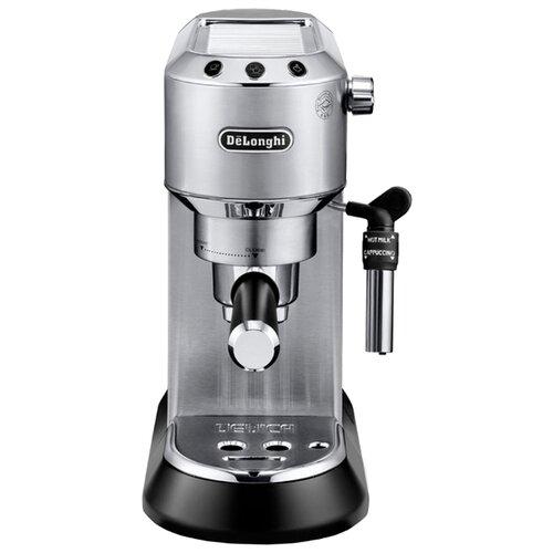 Кофеварка рожковая De'Longhi Dedica EC 685 металл кофеварка delonghi ec 685 r